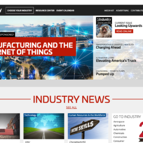 Leader in Manufacturing and Industry News US & Globally - Industry Today