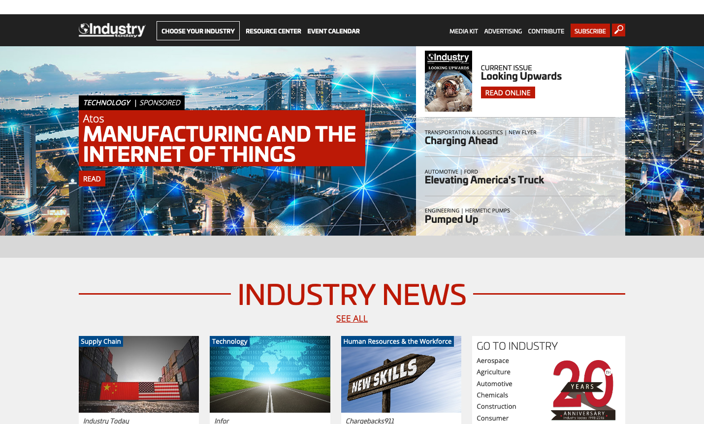 Industry Today Publication